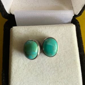 Jewelry - Sterling and Turquoise Stud Earrings